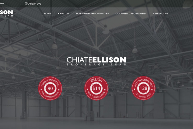 Just Launched – Chiate-Ellison Group – Cushman & Wakefield