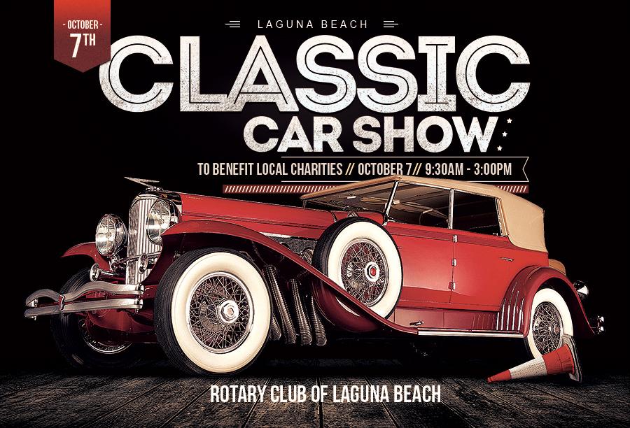 Laguna Beach Classic Car Show Orange County Website Design - Orange beach car show 2018