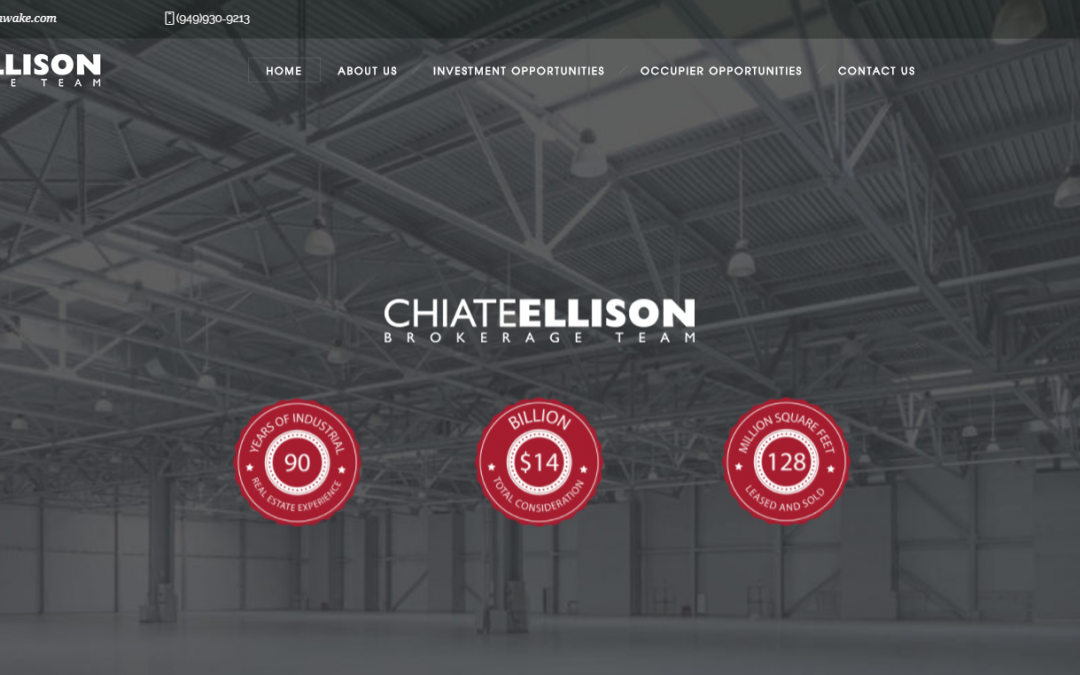 Just Launched – Cushman & Wakefield Chiate Ellison Group