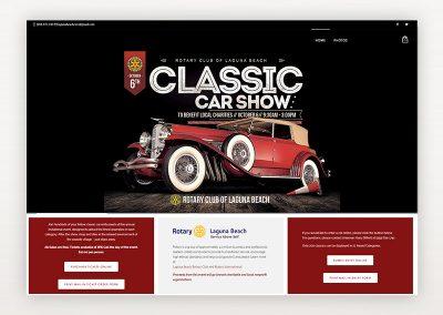 Laguna Beach Rotary Classic Car Show